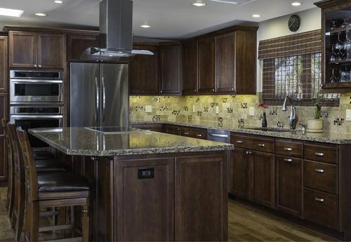 Mellgren Homes Island Kitchen Remodel In Pima County