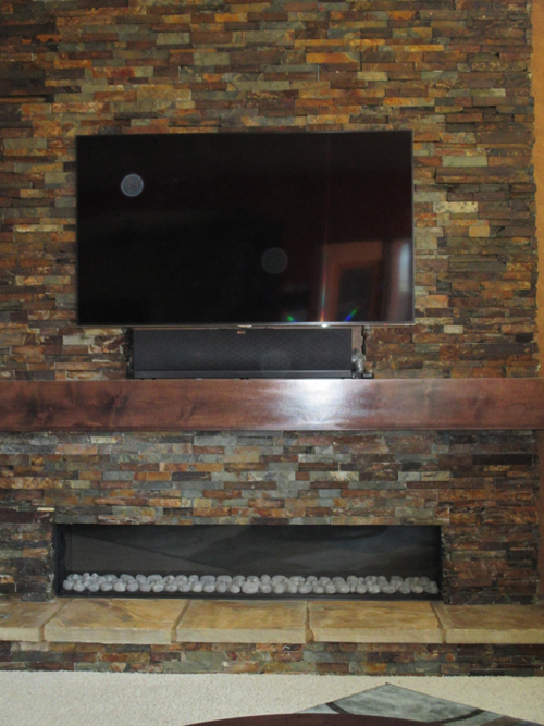 Oro Valley fireplace